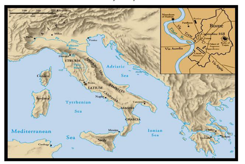 Romans Mrs JoDons Social Studies – Ancient Rome Map Worksheet